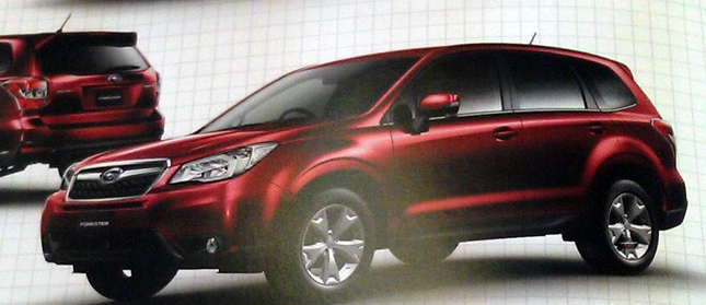 New Subaru Forester Compact SUV Surfaces