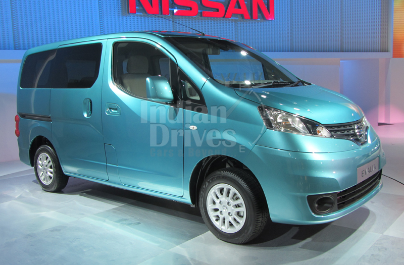 Nissan Evalia to Launch on 25th September Official