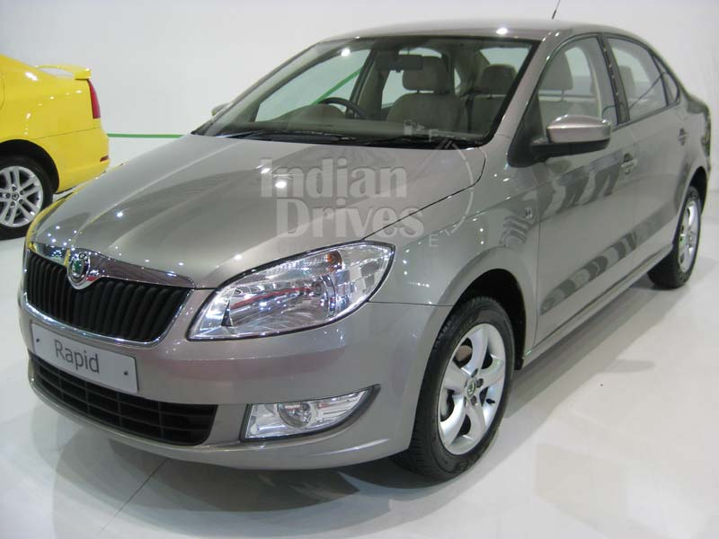 Skoda to showcase 2013 Rapid at Paris Motor Show