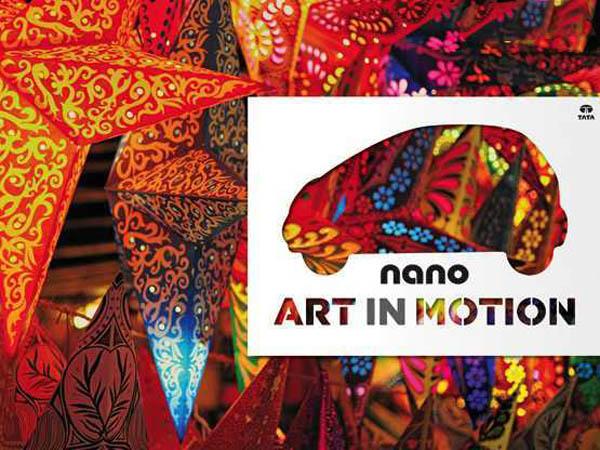 Tata Motors inaugurates Nano Art in Motion drive