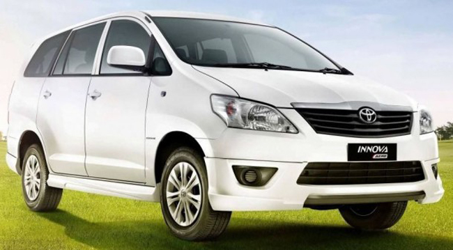 Toyota Innova Aero edition launched