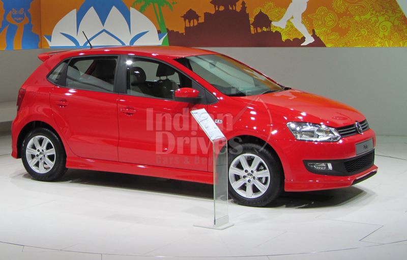 VW unveils India made 1st generation Polo sedan in Middle East