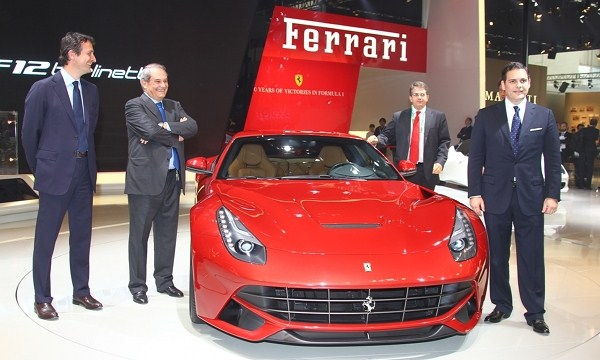 Ferrari first half net surges 10% on record sales