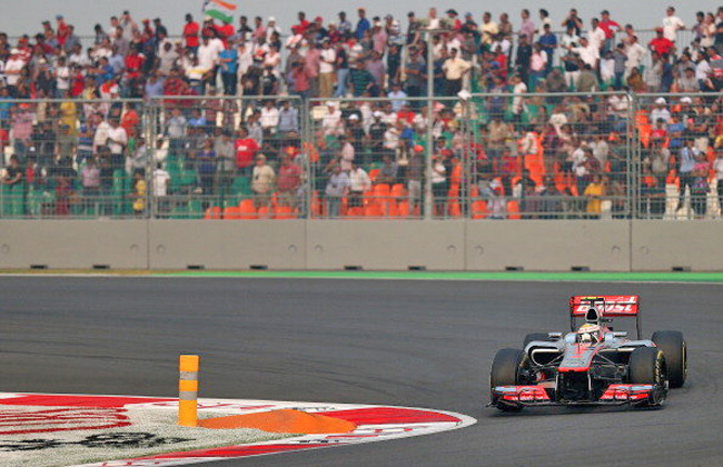 2nd Indian Grand Prix witnesses low attendance rate