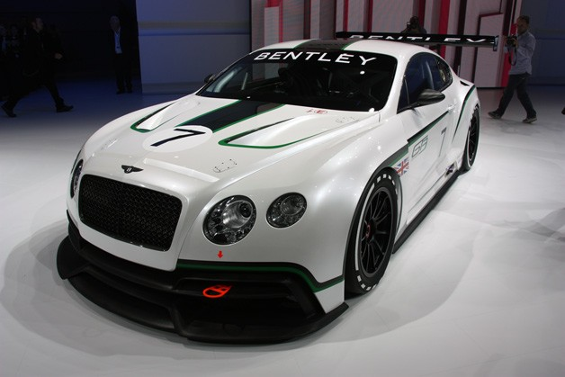 Bentley Continental GT3 Race Car revealed at the Paris Motor Show 2012