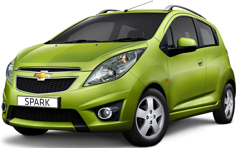 Chevrolet Spark to Launch on 25th October, 2012
