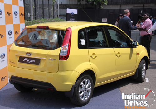 Ford launched revised Figo at Rs.3.5 lakh