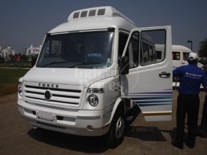 Force Motors launches Traveller-26 passenger van