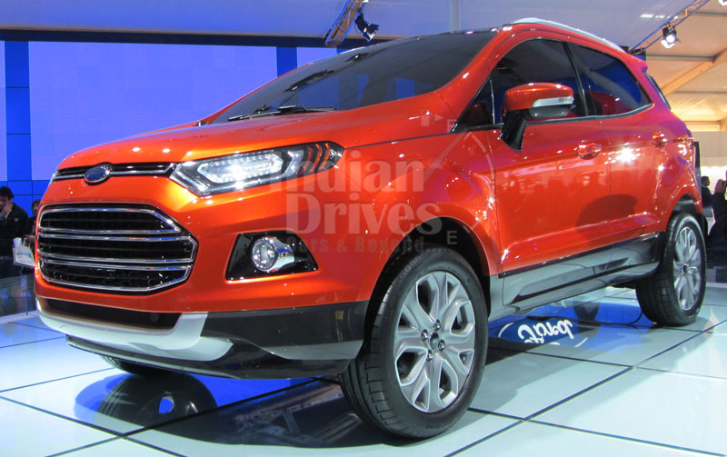 it 39 s official ford to launch its ecosport in february 2013. Black Bedroom Furniture Sets. Home Design Ideas