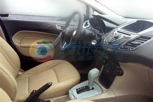 Ford Fiesta Sedan Caught Testing on Camera