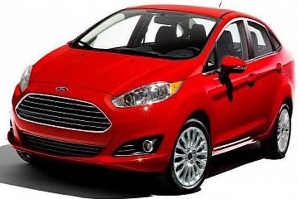 Ford Fiesta saloon facelift revealed