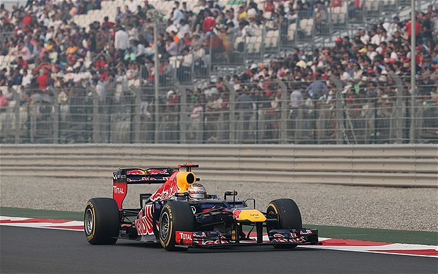 Formula One Sebastian Vettel wins Indian Grand Prix title again