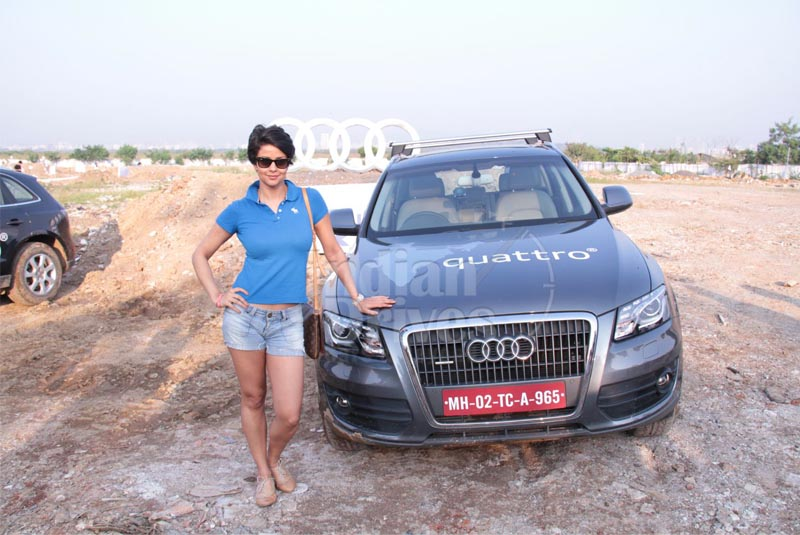 Gul Panag rolls out 'Audi Q Life' at Women's Power Drive in the national capital
