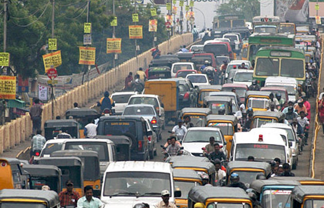 India's auto parts industry gets heavy online traffic report