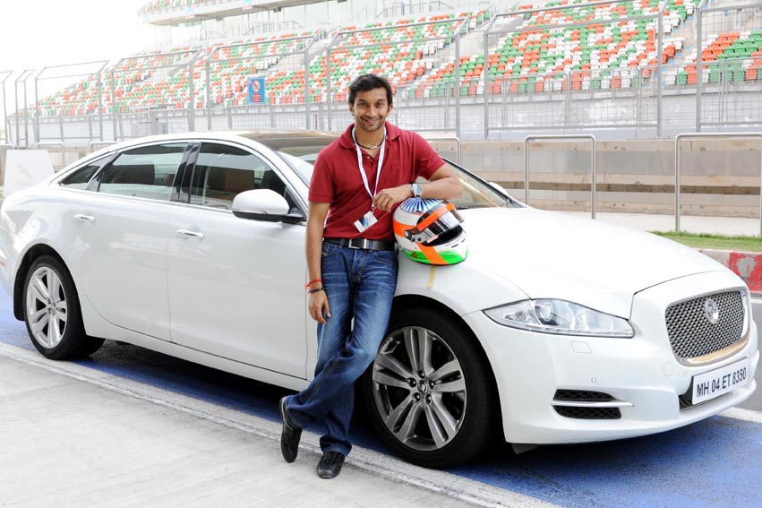 Jaguar Experience Comes Alive at the Buddh International Circuit
