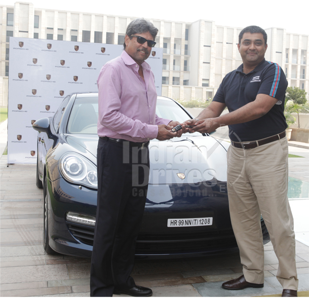 Kapil Dev Becomes the First Indian to have the Porsche Panamera Diesel