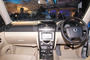 Mahindra Ssangyong Rexton W Launched for Rs.17.67 lacs