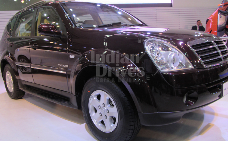 Mahindra to roll out SsangYong Rexton on Oct 17th