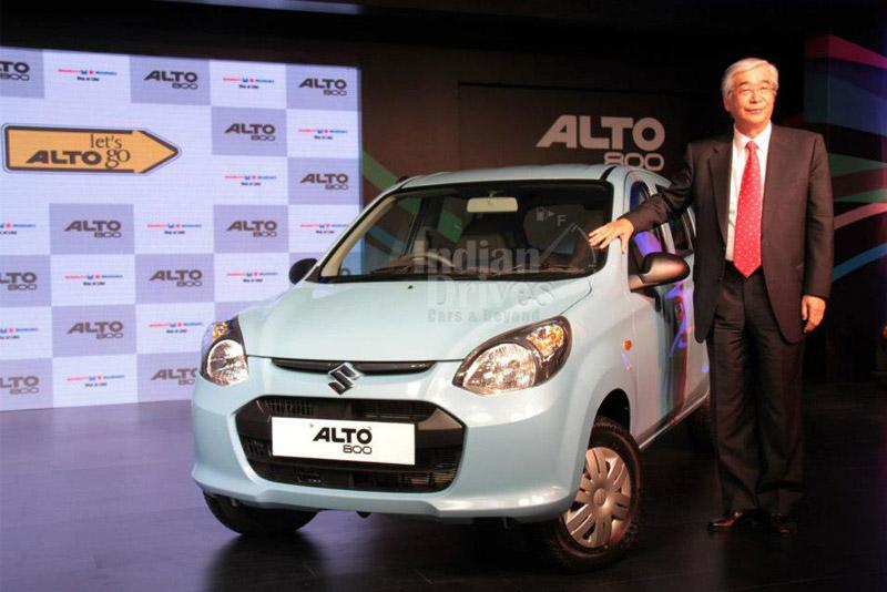 Maruti Suzuki To Begin Exporting Alto 800 By Jan 2013