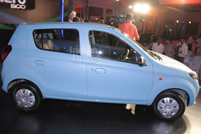 Maruti drives Alto 800 to small cities and rustic regions