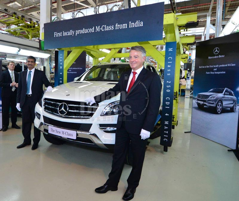 Mercedes Benz ML 250 CDI launched for Rs.46.5 lacs
