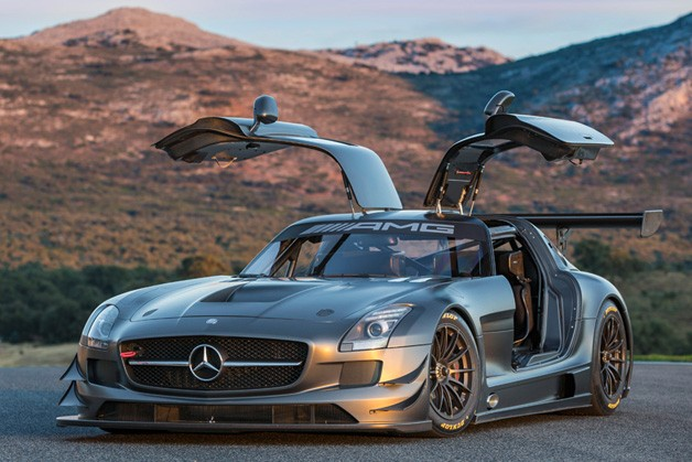 Mercedes Launches 45th Anniversary SLS AMG GT3