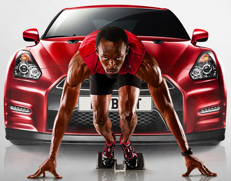 Nissan Developing GT-R dedicated to Usain Bolt
