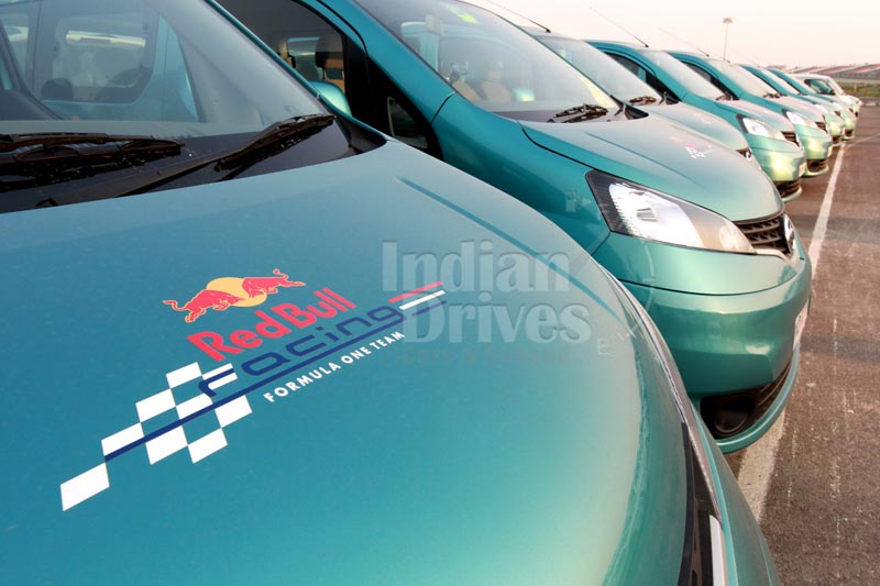 Nissan Evalia to support Red Bull Racing team