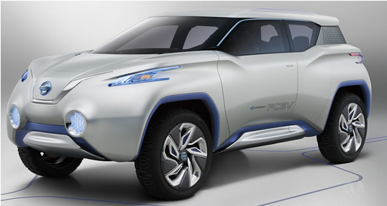Nissan exhibits compact-SUV concept