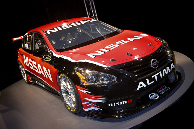 Nissan reveals its Altima V8 supercar
