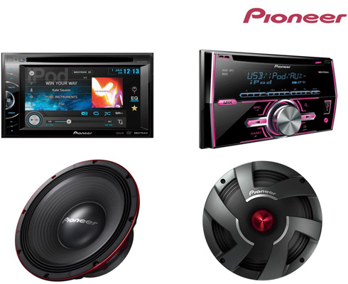 Pioneer Electronics launches new car entertainment products