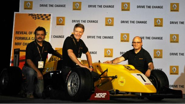 Renault Launches Team Car for MRF Challenge