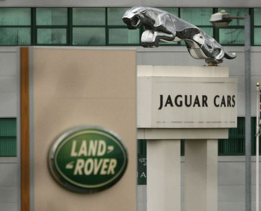 September 2012 Sales report for Jaguar Land Rover