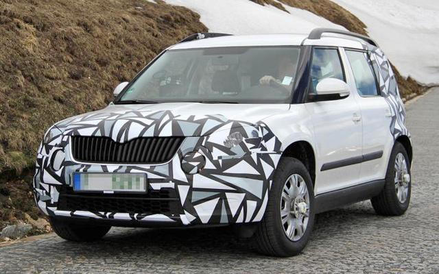 Skoda Yeti 2013 Facelift Revealed