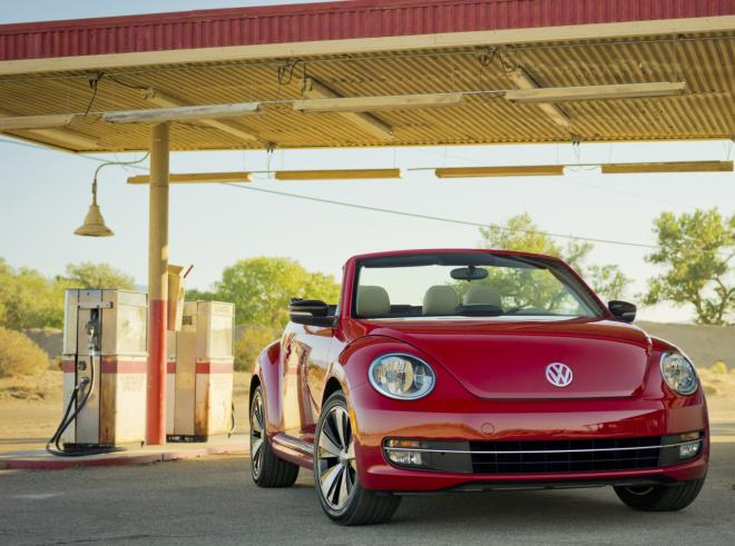 VW reveals its Beetle cabriolet