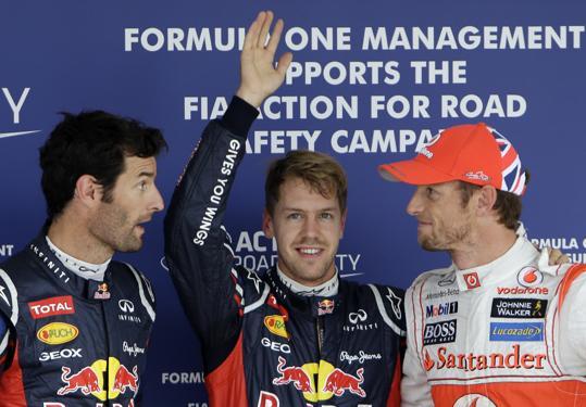 Vettel rules Suzuka GP