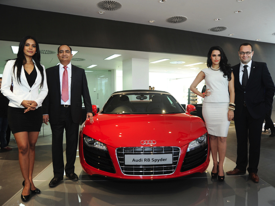 Audi inaugurates its largest luxury car showroom in Gujarat