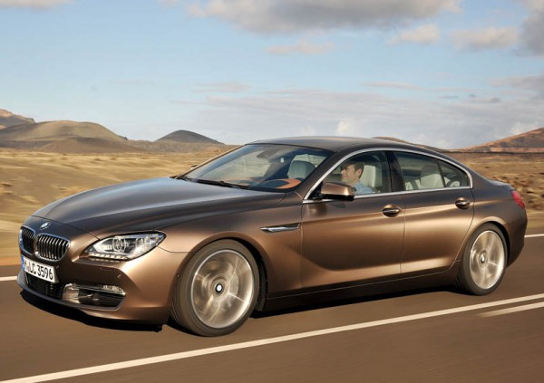 BMW 6 Series Gran Coupe rolled out in India