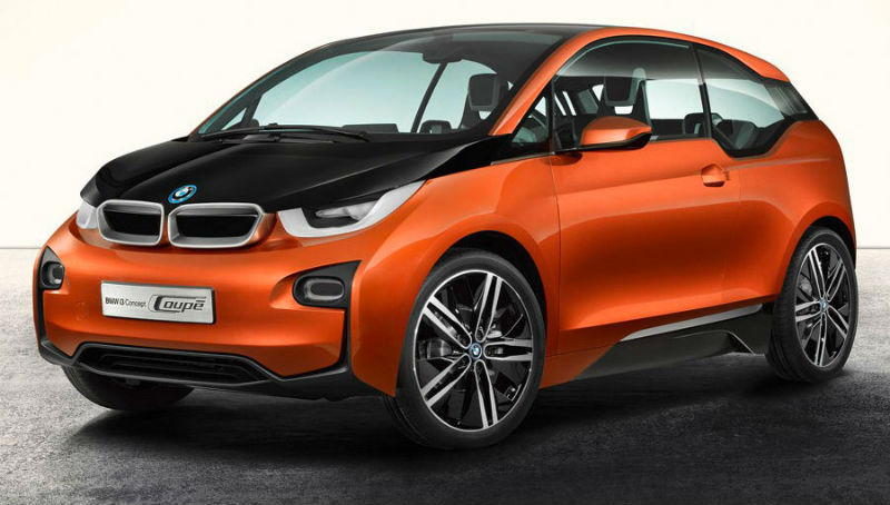 BMW i3 Coupe concept disclosed