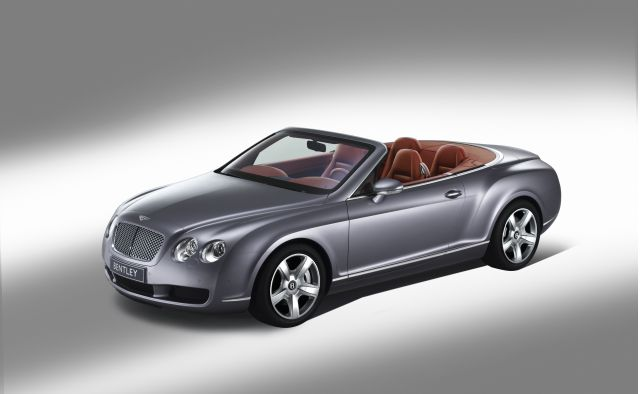 Bentley Continental GT Convertible Bags Auto Trophy 2012