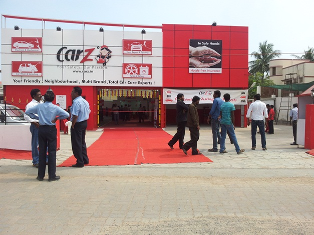 CarZ offers complete auto care solutions in Chennai