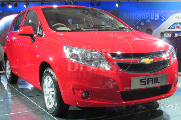 Chevrolet SAIL U-VA hatchback Launched for Rs.4.44 lacs