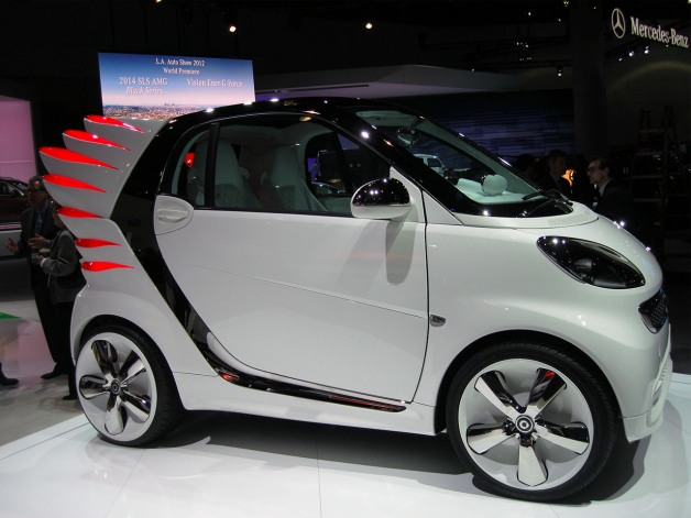 Designer Jeremy Scott Gives Wings to Mercedes-Benz's Smart Fortwo