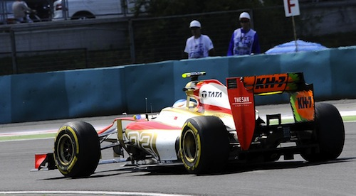 HRT F1 Team Put Up for Sale by Owner - Indiandrives com
