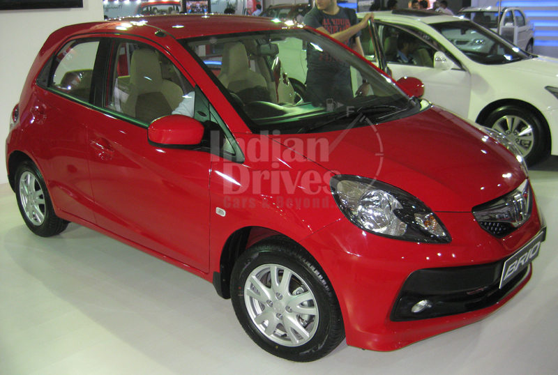 Indian manufactured Honda Brio Hatchback makes its way to SA