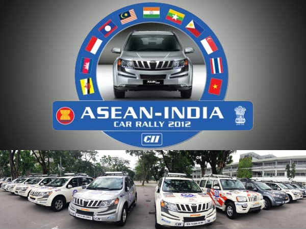 M&M XUV 500 powers the 'ASEAN-India Car Rally 2012'
