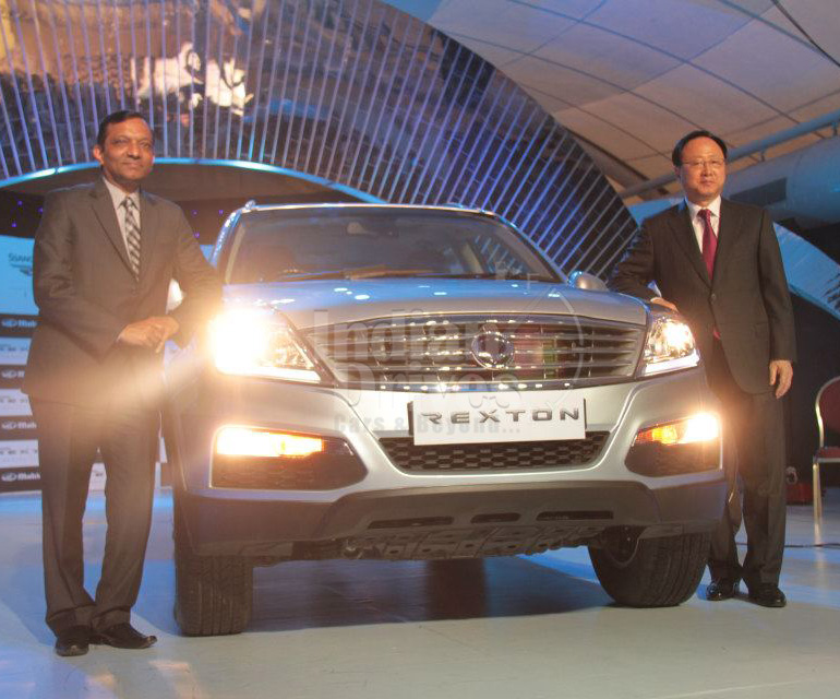 M&M plans to roll out SsangYong Rexton sport utility vehicle in 7 more cities