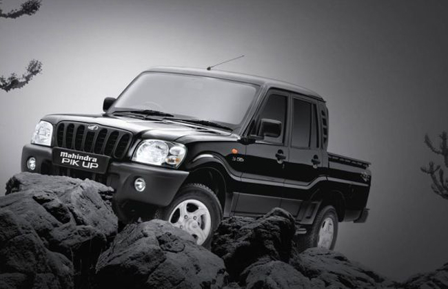 Mahindra Scorpio Pik-Up a.k.a Getaway introduced in the Brazilian market