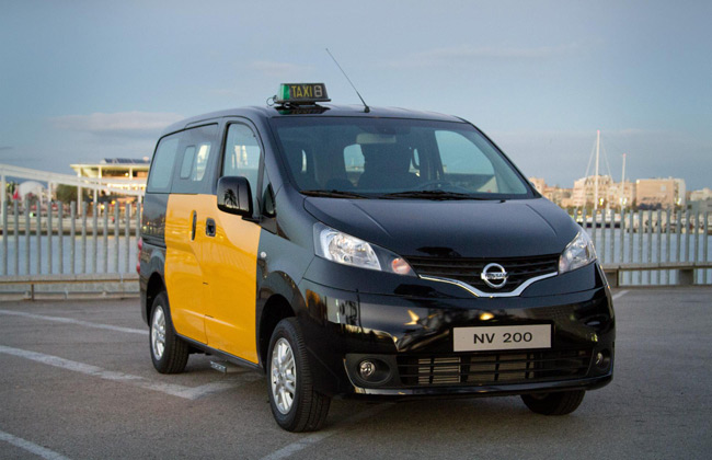 Nissan Evalia NV200 to be Sold as Barcelona Cab