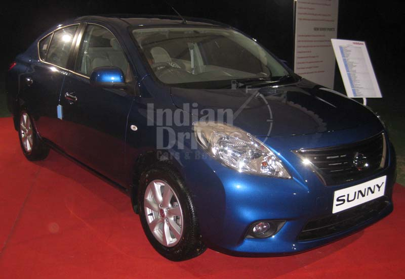 Nissan Sunny Automatic to Be Rolled Out in Q1 of 2013 Reports